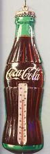 16 Inch Coca Cola Metal Litho 3D Coke Bottle Thermometer