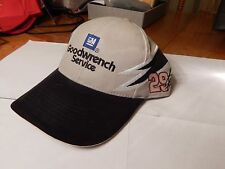 Kevin Harvick Goodwrench NASCAR Hat, New, Gray