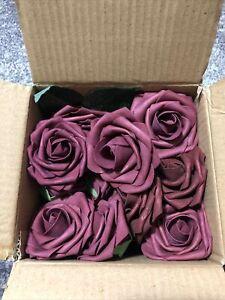 44 Ling's Moment Burgundy Roses