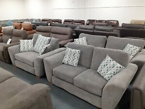 Lulu 3 seater sofa, 2 seater sofa and snuggle chair. Ex ScS stock