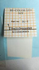 SwitchMaster DL-2 Bi-Color LED Kit red and green w/instructionsTrain set light