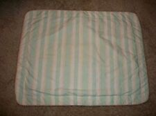 NIP Laura Ashley Palmetto Standard Pillow Sham Mint Green, Peach, White Stripe