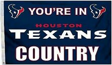 Houston Texans Huge 3'x5' Nfl Licensed Country Flag / Banner - Free Shipping