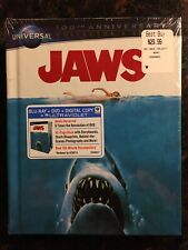 Jaws (Blu-ray/Dvd, 2012, 2-Disc Set, Universal 100th Anniversary Includes.