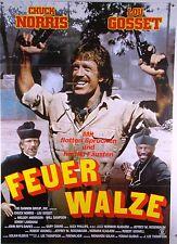 Feuerwalze FIREWALKER Chuck Norris, Louis Gossett jun. - Filmplakat DIN A1