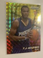 2014-15 Panini Prizm TJ Warren Rookie Card Yellow Red Mosaic RC Pacers