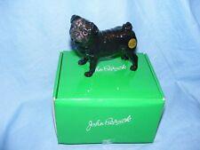 John Beswick Dog Pug Black JBD94 New Boxed Figurine Present Gift