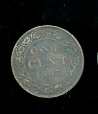 1907 H Canada Large Cent VG or better CQ45