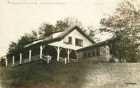 1920s Canton Maine Pinewood Camp RPPC real photo postcard 5650