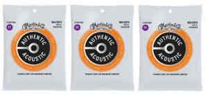Martin MA130FX Flexible Core Acoustic Guitar Strings Silk and Phosphor (3-Pack)