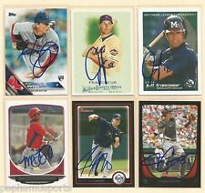 JEFF FRANCOEUR Signed/Autographed 2005 Southern League Top Prospects Card BRAVES