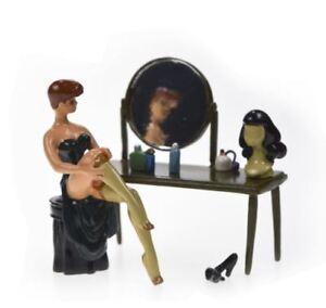 figurine pixi 5344 LA PIN'UP DEVANT SA COIFFEUSE Berthet boite certificat