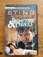 BRIMSTONE & TREACLE - Sting, Dennis Potter, The Police - VHS OOP Dutch Subs.