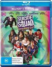 Suicide Squad EXTENDED CUT (2-Disc Set) NEW Blu-Ray
