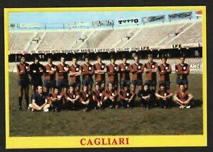 RARA FIGURINA CALCIATORI CALCIO SQUADRE BAGGIOLI ? 1975 CAGLIARI