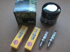 Kawasaki Tune up kit 2 CR7E Spark Plugs + Oil Filter KFX700 KFX 700 V Force