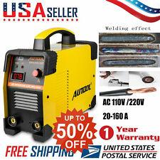 MMA ARC Welding Machine 110V/220V Portable DC IGBT Inverter Welder US