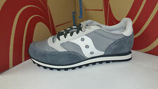 Saucony Men's Running Jazz Low Pro Grey White 2866-99 Size 8 Grid Asics Reebok