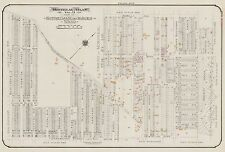 1913, CHARLES E. GOAD, MONTREAL, CANADA, COTE ST. LUC ROAD, COPY PLAT ATLAS MAP