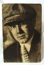 RUSSIAN ACTOR IGOR ILYINSKY (1901-1987) ORIGINAL CIRCA 1932  POSTCARD