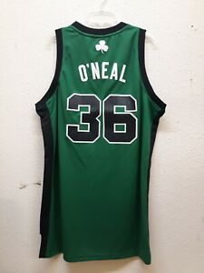 ADIDAS NBA SWINGMAN BOSTON CELTICS SHAQUILLE O'NEAL GREEN ALT JERSEY SIZE L