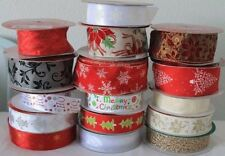 Wire-Edged Craft Ribbons 1-5 Length (Mtrs/Yds)