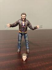 "Marvel Legends Wolverine X-Men Movie 6"" Hugh Jackman Action Figure Loose Hasbro"