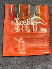 Xcelite-6 Piece M-60 Screwdrivers Set With Case!!!!!!!!!!
