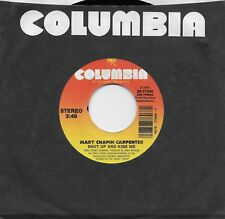 MARY CHAPIN CARPENTER  Shut Up And Kiss Me / The End Of My Pirate Days 45