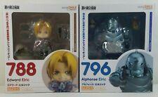 Fullmetal Alchemist Nendoroid Set - Edward and Alphonse Elric Figures - New