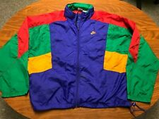 MENS VINTAGE NIKE GRAY TAG WOTHERSPOON AIR MAX 97'S WINDBREAKER JACKET SIZE 2XL