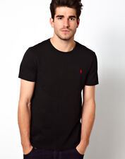 Polo Ralph Lauren Mens Short Sleeve Crew Neck T-shirt Medium Black