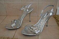 Silver Heels! Size 10