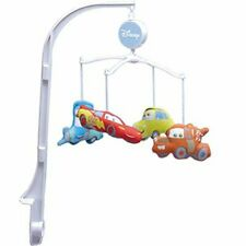 Disney Cars lightning Mcqueen Baby Crib Musical Mobile Discontinued  See details