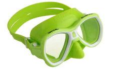 Seac Elba MD Kinder Tauchmaske Schnorchelmaske Taucherbrille Schwimmbrille grün