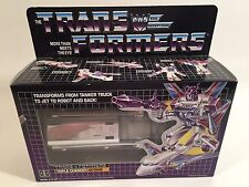 1990's REISSUE G1 TRANSFORMERS TRIPLE CHANGER OCTANE SEALED GREAT CONDITION