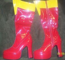 Supergirl Halloween Costume Boots -Rubies-DC Comics -Women Size S 5-6 New