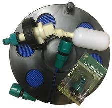 Aquaroll Mains Adaptor Kit with Smallest Hose Reel & 10mtr Flat Food Grade Hose