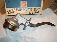 """1977 78 79 80 Gm diesel """"Z"""" motor Genuine  AC brand fuel pump Buick Oldsmobile C"""