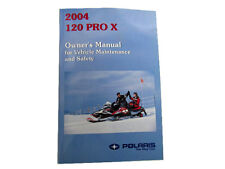 Owner's Manual For 2004 120 Pro X - 9918224