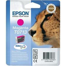Epson T0713 Magenta Ink Cartridge for Stylus SX415 SX600FW SX515w