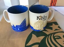 Starbucks City Global Icon Mug Köln 16 oz (m.i.T) SONDERANGEBOT! 1 Tasse / Mug