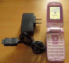 Sanyo SCP-3200 Sprint PCS Pink Cell Phone - Clean ESN