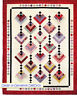 """Hanging Gardens - pieced quilt PATTERN for 2.5"""" strips - Cozy Quilts - 3 sizes"""