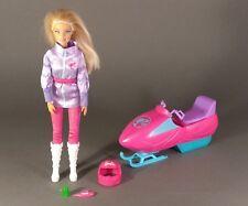 Barbie Doll Artic Rescue doll Helmet Snowmobile set