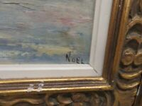 "Framed Oil Painting on Canvas / Signed / 28"" x 24"""