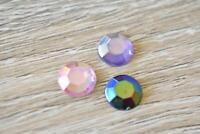 NEA58 Teardrop CLEAR 5X8mm 100pcs Faceted Acrylic Resin Jewel