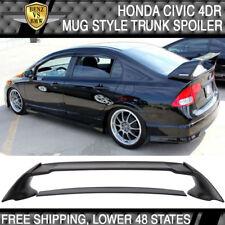 06-11 Honda Civic 4Dr FD2 Rear ABS Trunk Spoiler Wing JDM Mugen MUG RR Style