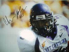 Chris Johnson signed Ecu East Carolina Pirates 16x20 photo Jsa Coa Titans