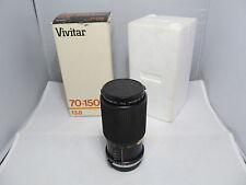 Vivitar 70-150mm f3.8 Auto Zoom for OLYMPUS O/OM ~ Original Box
